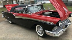 1957 Ford 500 Sunliner Convertible All Original, Numbers Matching