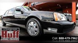 2001 Cadillac DeVille 4dr Sdn Limousine