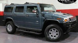 2005 HUMMER H2 2-Owner New Tires 73483 Miles 3rd Row Clean CarFax
