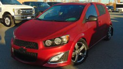 2014 Chevrolet Sonic RS Manual