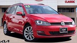 2015 Volkswagen Golf SportWagen SEL