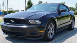 2012 Ford Mustang Premium Convertible 2D