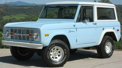 1974 Ford Bronco Restored - FREE DELIVERY