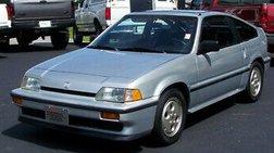 1987 Honda Civic CRX Si