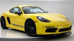 2020 Porsche 718 Cayman Base