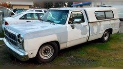 1991 Dodge RAM 250 Reg. Cab 8-ft. Bed 2WD