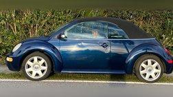 2003 Volkswagen New Beetle GLS 1.8L Convertible