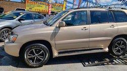 2004 Toyota Highlander Sport Utility 4D