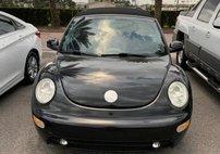 2003 Volkswagen New Beetle 2dr Convertible GLS Turbo Manual