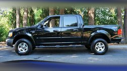 2002 Ford F-150 XLT 4dr SuperCrew 4X4 V8 AUTOMATIC SHORT BED