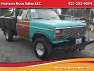 1980 Ford F-150 Base 4WD