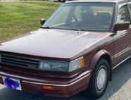 1987 Nissan Maxima GXE