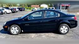 2001 Plymouth Neon Sedan