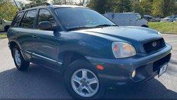 2001 Hyundai Santa Fe GLS