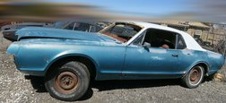 1967 Mercury Cougar California Project car! 289 engine. C Code