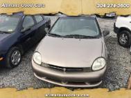 2000 Plymouth Neon Sedan
