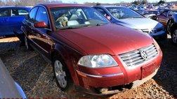 2003 Volkswagen Passat GLX