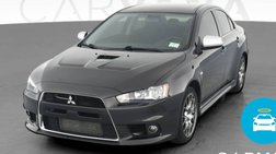 2012 Mitsubishi Lancer Evolution MR