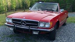 1973 Mercedes-Benz 2 door, convertible