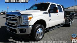 2015 Ford F-350 XLT Crew Cab Long Bed DRW 4WD