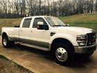 2008 Ford F-450 Super Duty King Ranch Crew Cab Pickup 4-Door