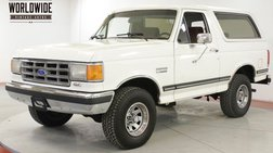 1987 Ford Bronco COLLECTOR TIME CAPSULE 4x4 PSPB AC LOW MILES