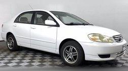 2003 Toyota Corolla LE