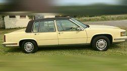 1987 Cadillac DeVille Base