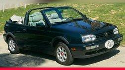 1998 Volkswagen Cabrio GLS