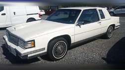 1988 Cadillac DeVille Base