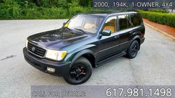 2000 Toyota Land Cruiser Base