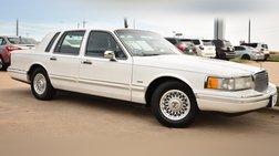 1994 Lincoln Town Car Cartier