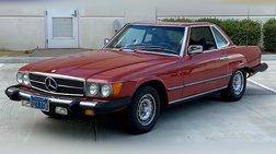 1977 Mercedes-Benz SL-Class Convertible