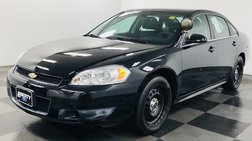 2013 Chevrolet Impala Police