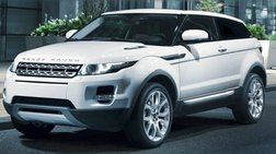 2012 Land Rover Range Rover Evoque Coupe Pure Plus