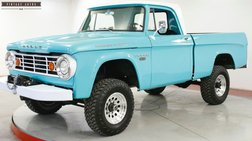 1967 Dodge  FRAME OFF RESTORED 4x4 SHORT BED 318 WINCH