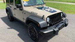 2018 Jeep Wrangler Willys Wheeler