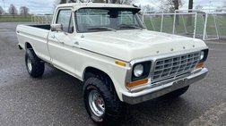 1978 Ford F-150 4WD Reg Cab 145