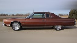 1977 Chrysler New Yorker BROUGHAM TWO DOOR HARDTOP w- ST REGIS PACKAGE