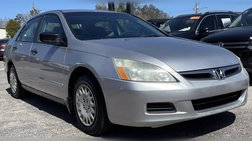 2006 Honda Accord Value Package