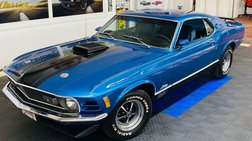 1970 Ford Mustang -MACH 1 SPORTS ROOF - MARTI REPORT - 351 SHAKER HO