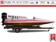 1968 Mercury Racing Tunnel Boat Hydroplane