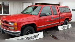 1996 Chevrolet C/K 1500 Ext Cab 141.5