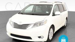 2017 Toyota Sienna Limited Premium Minivan 4D