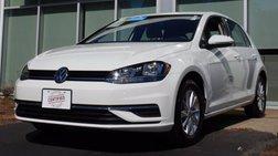 2019 Volkswagen Golf S w/ Manual Transmission