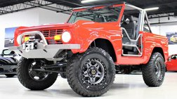 1971 Ford Bronco 4WD Custom