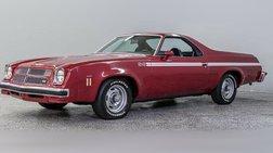 1975 Chevrolet El Camino SS