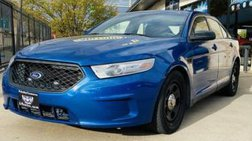 2013 Ford Taurus Police Interceptor
