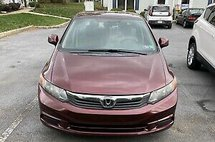 2012 Honda Civic EXL With Navigation