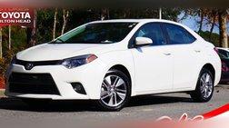 2016 Toyota Corolla LE Eco Premium